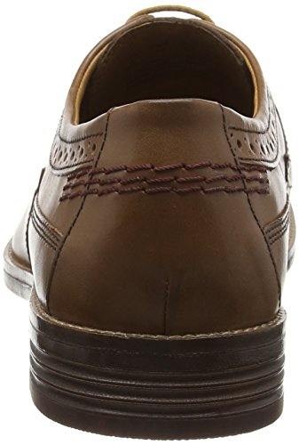 Hush Puppies HM01527-201, Zapatos Brogue Hombre Beige (Tan Leather)