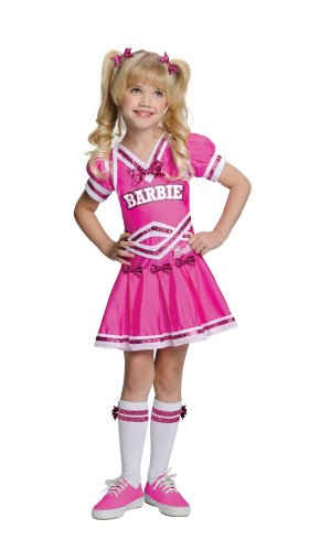 [Barbie Cheerleader Kids Costume - Toddler] (Barbie Halloween Costumes For Kids)