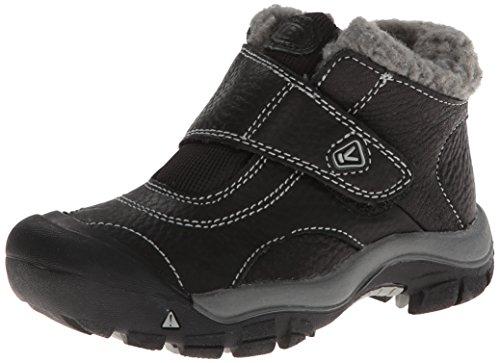KEEN Kootenay Winter Boot (Toddler/Little Kid), Black/Neutral Gray, 10 M US Toddler (Kids Shoes Girls Toddler Leather)