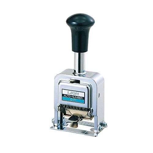 Numbering Machine 7 Wheels (Lion Pro-Line Heavy-Duty Automatic Numbering Machine, 7-Wheel, 1 Numbering Machine (C-77))