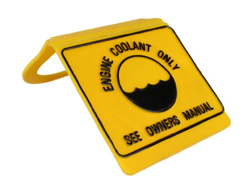 Coolant Bottle Cap in Yellow Direct Replacement fits Jeep Grand Cherokee ZJ 1997-1998 All Motors