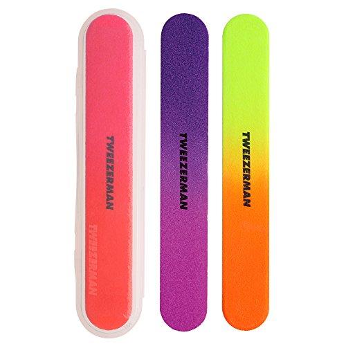 Tweezerman Neon Hot Filemates (Smoothing Body Buffer)