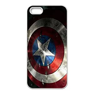 Captain America Shield Brand New And Custom Hard Case Cover Protector For Iphone 5s