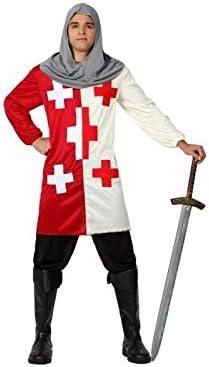 Atosa – 5099 – Disfraz de Caballero Cruzadas – Adulto – Tamaño 2 ...