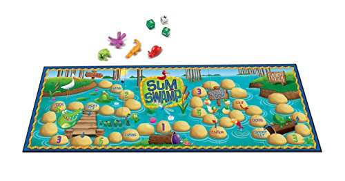 41%2BLqwLgv9L - Learning Resources Sum Swamp Game, 8 Pieces