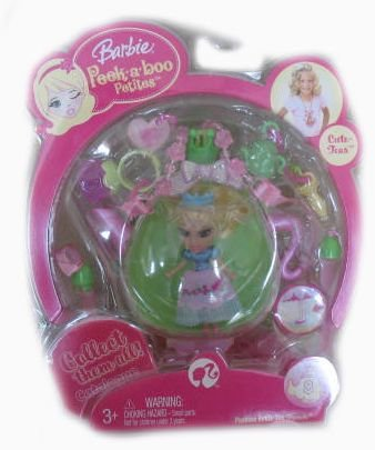(Barbie Peekaboo Petites #8 Passion Fruit Tea Francie Doll)