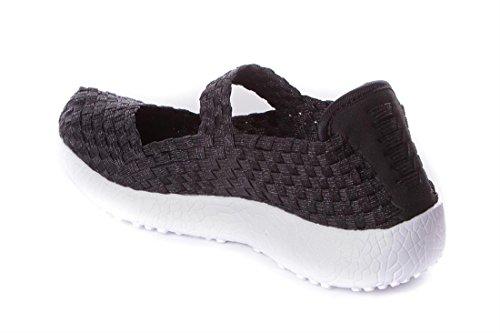 Lacets Noir à Doctor Chaussures pour Ville Cutillas Femme de wgxXpq8x7