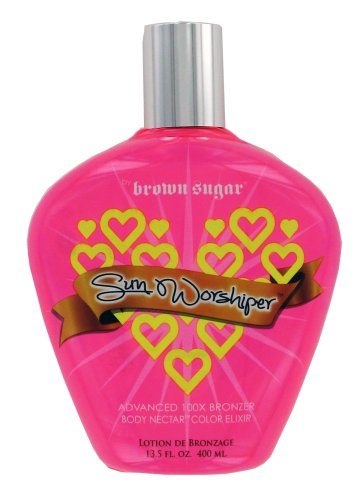 Brown Sugar SUN WORSHIPER 100X Advanced Bronzer – 13.5 oz. by Tan Incorporated