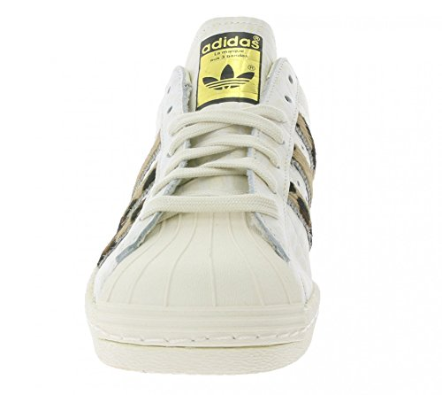ADIDAS Superstars Animal Sneaker chalk white/chalk white/gold metallic