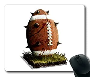 American Football1 Masterpiece Limited Design Oblong Mouse Pad by Cases & Mousepads