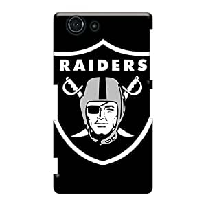 Sony Xperia Z3 Mini Saz12280rPIX Custom Fashion Oakland Raiders Pattern Durable Cell-phone Hard Cover -LavernaCooney