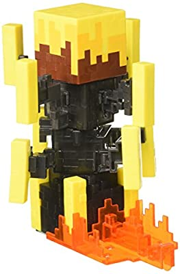 ​Minecraft Blaze Action Figure with Spinning Action Figure- Series 5 by Mattel