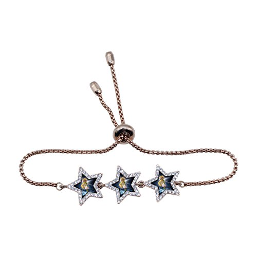 - Unique Elven Fairy Hand Catenary Wristband Fashion Star Crystal Jewelry