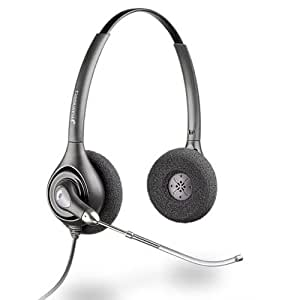 Plantronics H261 Supra plus - Auriculares supraurales con micrófono y cable U10P para el teléfono