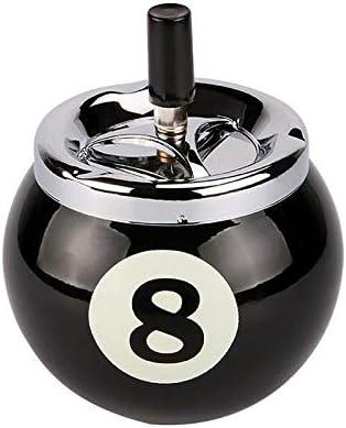 Cenicero de cigarrillos Fashional Empuje hacia abajo No. 8 Bola de ...