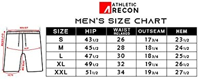 C//N ARECON Men/'s Lightweight Soft Breathable Sweat-Wicking Quick Dry Workout Loose-fit Shorts for Training Running Gym Yoga