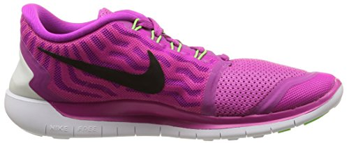 NIKE Womens Free 5.0 Running Shoes Fuchsia Flash/Pink Pow/Hot Lava/Black p2eDPE9