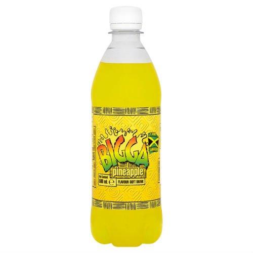 Bigga Pineapple Flavour Fizzy Drink 500Ml Case Of 12