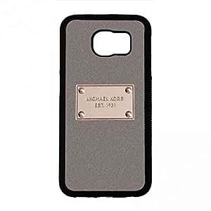 Michael Kors MK Logo Samsung Galaxy S6 Phone Case,Michael Kors MK Logo Phone Case Cover For Samsung Galaxy S6,Black Phone Case