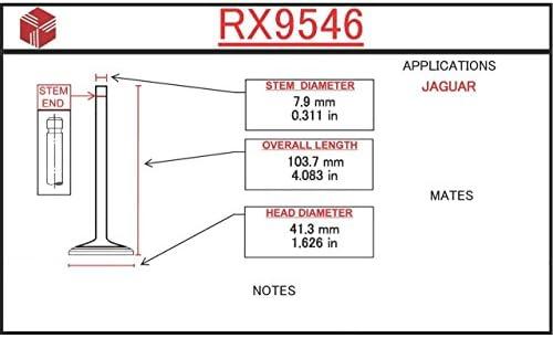 ITM Engine Components RX8212 Exhaust Valve