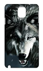 Hard Case Back Cover - The Wolf in the wandering Samsung Galaxy Note3 N9000 Case