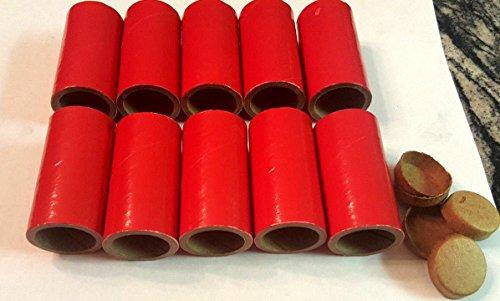 20 Thick WALLED SALUTE Firework Tubes Shells 1