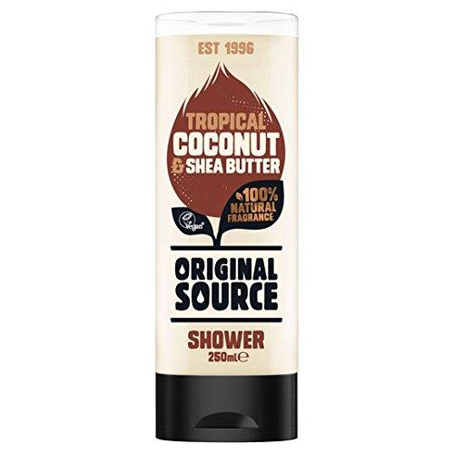 Original Source Moisturising Coconut & Shea Butter Shower Gel 250ml (Gel Source Original Shower)