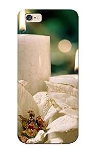 Flyingangela Case Cover Christmas Candles/ Fashionable Case For Iphone 6 Plus