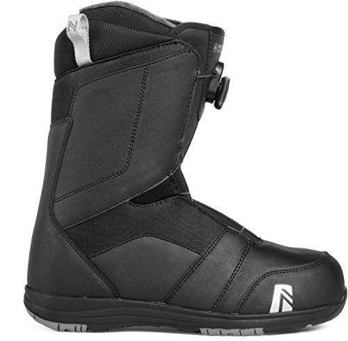 Nidecker Ranger BOA 2019, Black, 9 (Size 9 Snowboard Boots)
