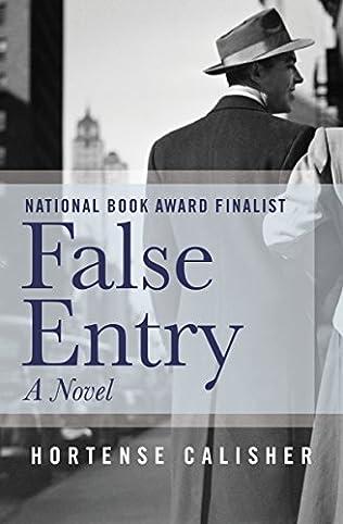 book cover of False Entry