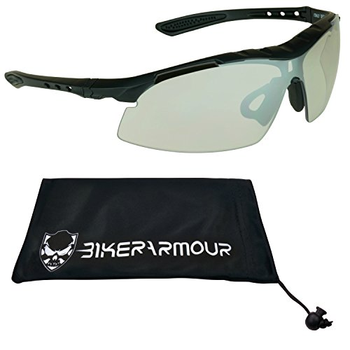 Lentes de sol de seguridad para ciclismo, caza, Tiro, correr, Moto, Equitación, tenis, conducción y todas las actividades...