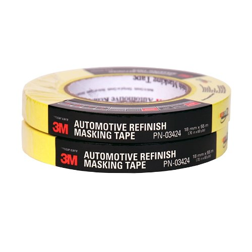 3M 03424 18 mm x 55 m Automotive Refinish Masking Tape Automotive Refinish Masking Tape