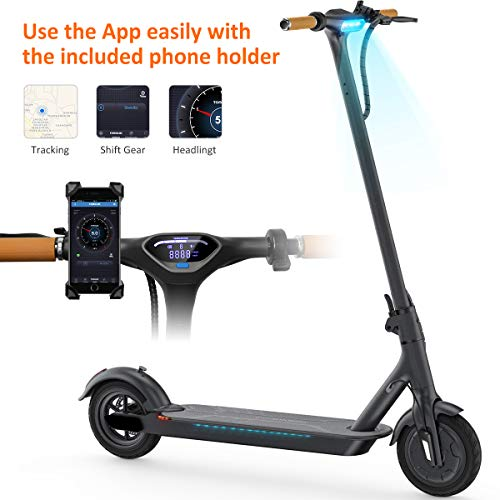 """TOMOLOO Two-Wheel Self Balancing UL2272 Certified 6.5"""" Electric Scooter for and Adult"""