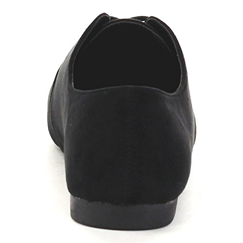 Zapatos De Mujer Anna Oxford Ox-1 Oxford Black
