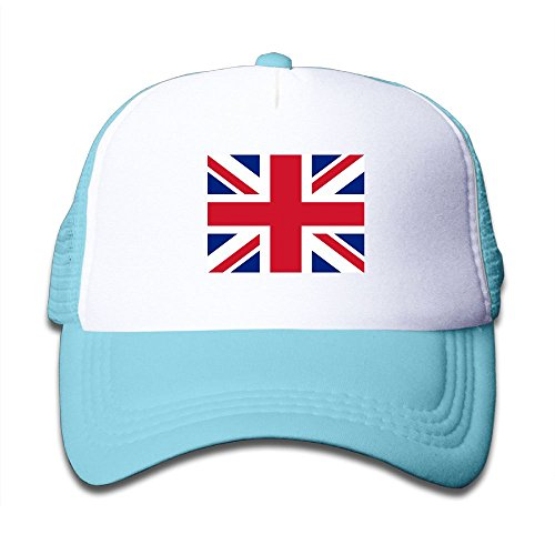 Futong Huaxia British Flag Boy & Girl Grid Baseball Caps Adjustable sunshade Hat For Children free shipping