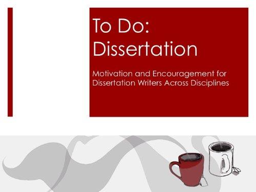 To Do: Dissertation