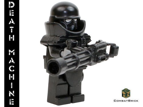 Heavy Support Trooper - Custom Army Builder Military Minifigure