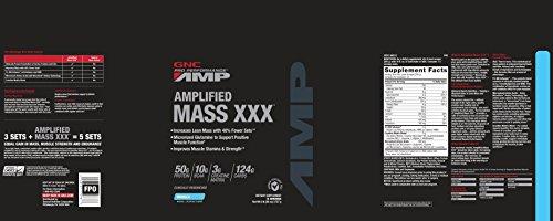 GNC Pro Performance AMP Amplified Mass XXX Vanilla