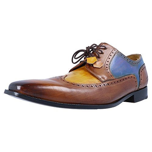 amp; Hamilton 29 de Ville Marron Homme Oskar Derby Chaussures Melvin OvdgqRwv