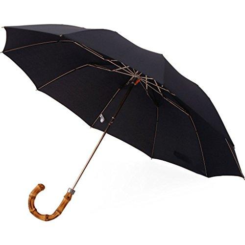 London Undercover Telescopic 10 Rib Umbrella | Whangee Handle by London Undercover