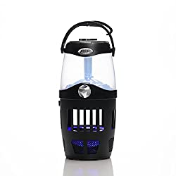Pic Out-lan 4-in-1 Portable Insect Trap Lantern & Bluetooth Speaker, Black