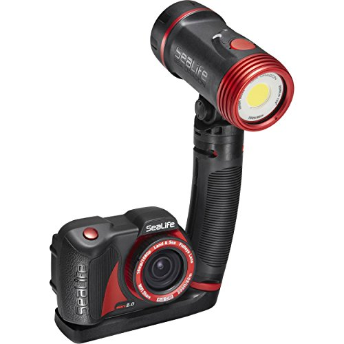 (SeaLife Micro 2.0 Pro 2500 Set, Includes 64GB Underwater Wi-Fi Camera, Sea Dragon 2500 Lumen Light, Flex Arm, Sea Dragon Case, Flex-Connect Micro Tray and Grip)