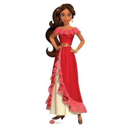 (Elena Of Avalor Red Dress Holiday Christmas Tree Ornament)