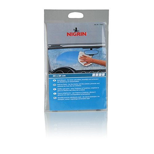 30 x 24 cm Nigrin Anti-Ice Cloth 11.8x9.4 inch 73801