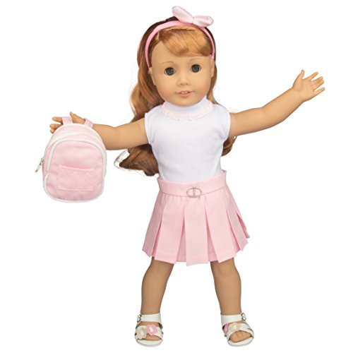 Dress Along Dolly Back to School Doll Clothes for 18
