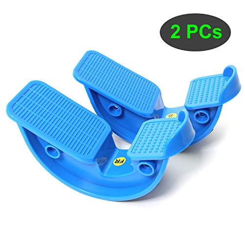 TODO Foot Rocker Calf Stretcher for Pain Relief and Muscle Stretch 2 PCS Blue