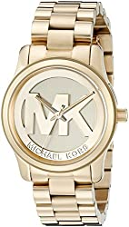 Michael Kors Women's MK5786 Runway Gold-Tone Stainless Steel Watch