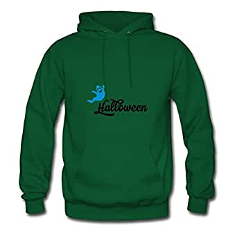 Customized Off-the-record Halloween Chic Sweatshirts In Green Women Cotton X-large