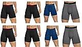 Champion Mens Elite SmartTemp Vapor Boxer Briefs, 4-Pack