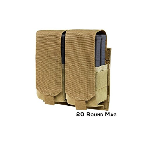 CONDOR DOUBLE M14 MAG POUCH, TAN for sale  Delivered anywhere in USA